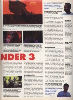 Wing Commander 3 Preview Page 2 - PC Format