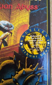 Ultima Underworld - Box Sticker