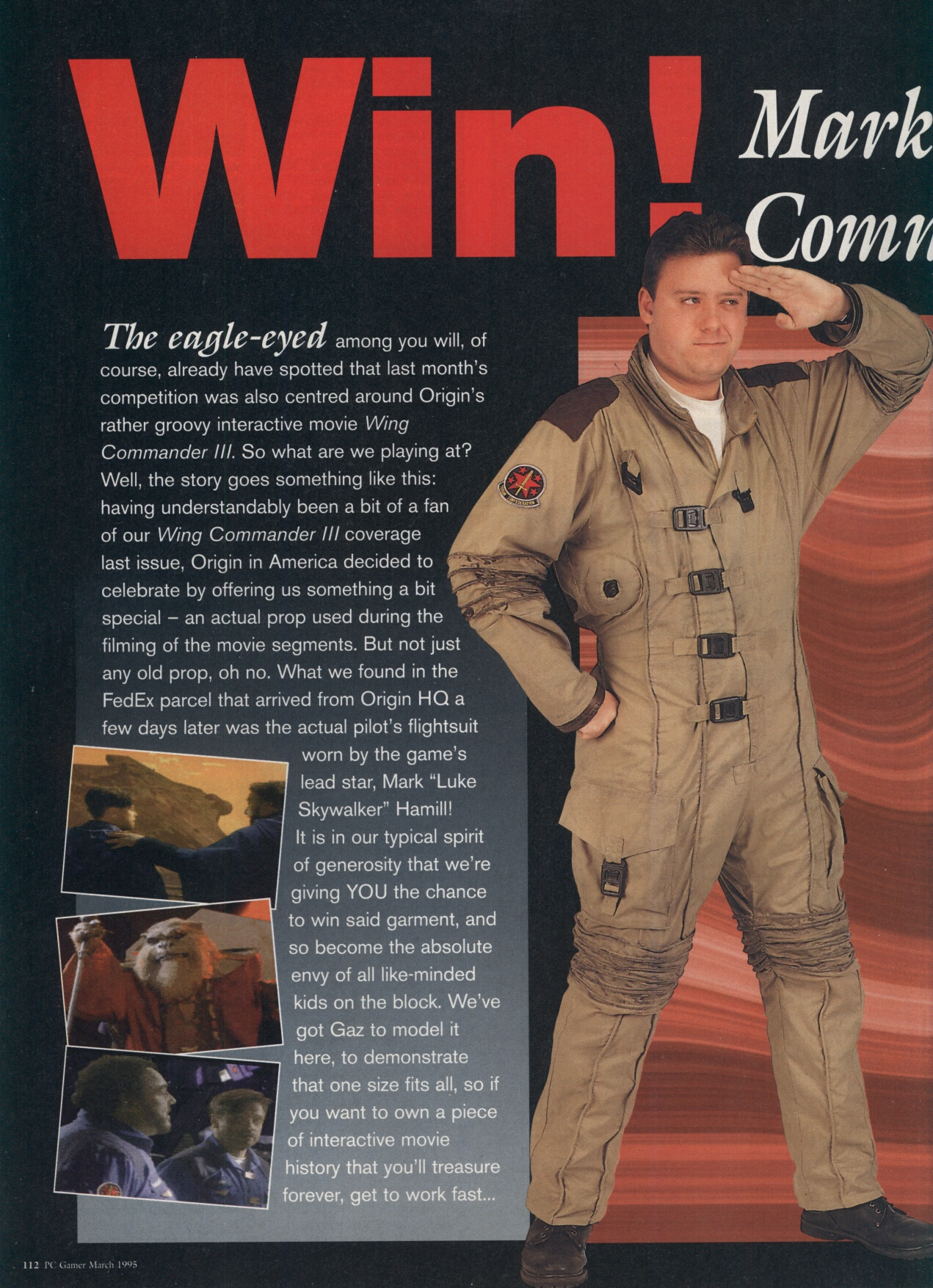 mark hamill wing commander 3