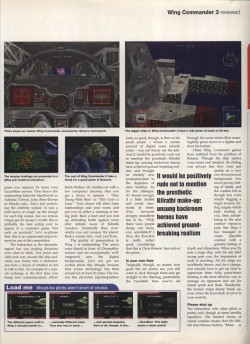 Wing Commander 3 Review - PC Format Page 2