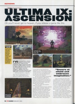 PC Gamer Ultima 9 Review - Page 1