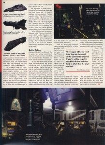 Wing Commander 3 Preview Part 2 - PC Format Page 3