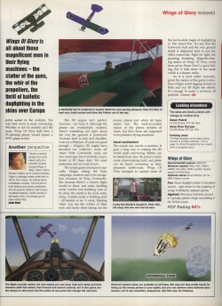 Wings Of Glory Review - PC Format Page 2