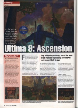 PC Format Ultima 9 Review - Page 1