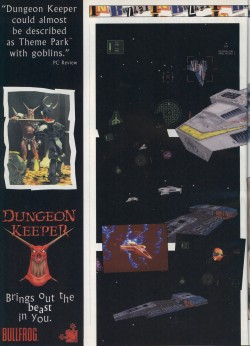 PC Zone Wing Commander 4 Bulletin - Page 1