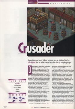 PC Home Crusader No Regret Review - Page 1