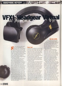 VFX1 Review - PC Zone Page 1