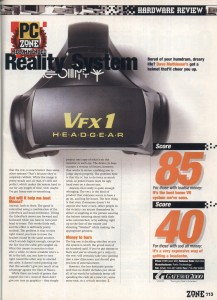 VFX1 Review - PC Zone Page 2