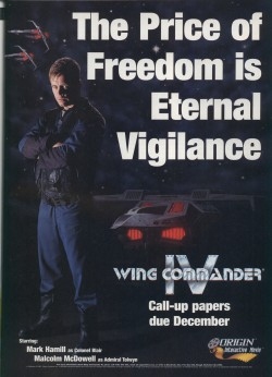 Wing Commander 4 Ad
