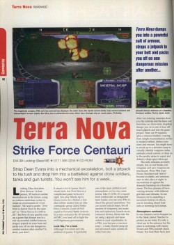 PC Format - Terra Nova Review Page 1