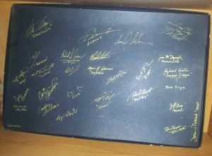 Ultima Online Charter Edition - Signed Box Back