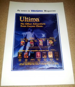 Ultima Trade Show Advert