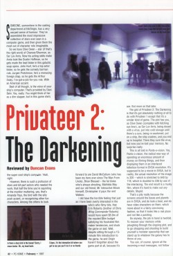 Privateer 2 Review - PC Home Page 1