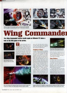 Ultimate PC - Wing Commander Prophecy Preview Page 1