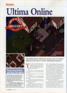 Ultima Online Review - PC Gamer (Page 1)