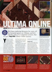 Ultima Online Review - PC Format (Page 1)