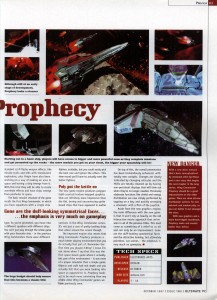Ultimate PC - Wing Commander Prophecy Preview Page 2