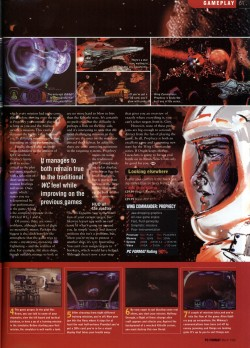 Wing Commander Prophecy Review - PC Format (Page 4)