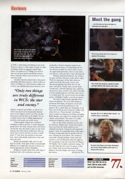 Wing Commander Prophecy Review - PC Gamer (Page 3)