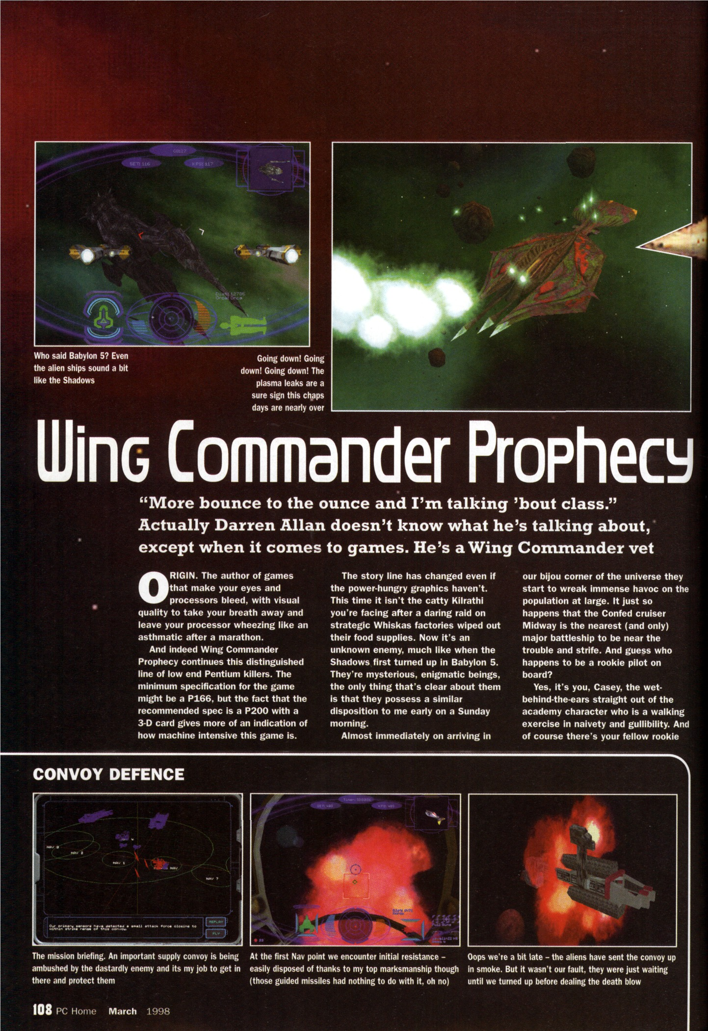 Wing commander prophecy review pc home pix 39 s origin for Wing commander prophecy