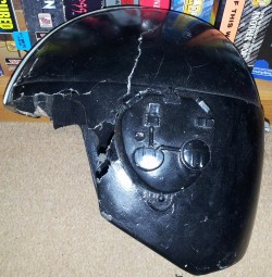Crusader No Regret Helmet - Left