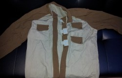 Crusader No Regret Costume - Jacket Front