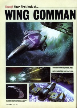 PC Gamer Wing Commander Prophecy Preview - Page 1