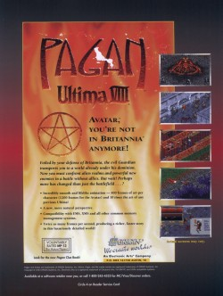 Ultima 8 Magazine Advert Proof 1
